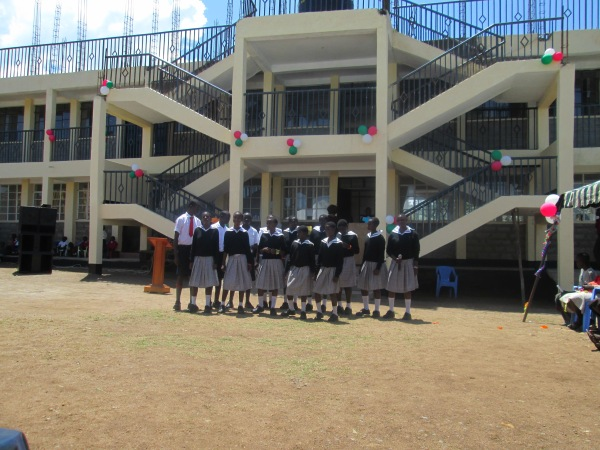Children at Point of Grace School