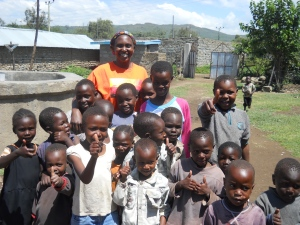 Some of the hundreds of children served by 4Kenya'sKids. Many of these are total orphans. 'Truly, I say to you, as you did it to one of the least of these my brothers, you did it to me.' (Matthew 25:40 ESV)